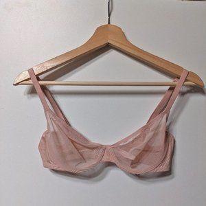 NEW Victoria's Secret | Body Unlined Mesh Demi Bra